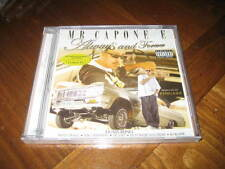 Chicano Rap CD Mr. Capone-E - Always and Forever - Criminal Nate Dogg Lil Cuete