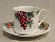 Royal Doulton Vintage Grape Cup & Saucer