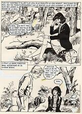 PUCK ET LE TRESOR (JULIANA BUCH) PLANCHE AREDIT SIGNEE PAGE 7