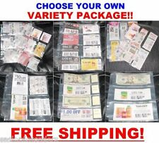 ( 66 ) EXTREME COUPON SLEEVES Holder Organizer Binder PAGES SET - MAKE YOUR OWN!