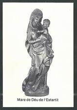image pieuse Virgen holy card santino estampa
