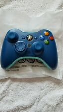 Official Xbox 360 Limited Edition Blue Mix Controller (Only Came with Consoles)