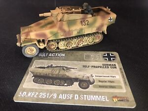 Warlord Games Bolt Action German SdKfz 251 Stummel Pro Painted