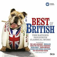 Best Of British The Nation's Favourite Classical Music 3 CD SET