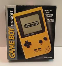 VINTAGE Nintendo Game Boy Pocket Yellow Handheld System FACTORY SEALED BRAND NEW