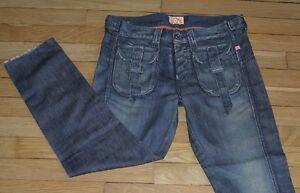 PEPE Jeans  pour Femme  W 27 - L 30 Taille Fr 36 SUN (Réf # e185)