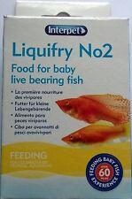 INTERPET LIQUIFRY 2 FOOD FOR LIVEBEARER FISH 0755349003020