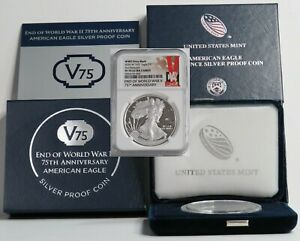 2020-W V75 SILVER AMERICAN EAGLE NGC PFUC 70 FIRST RELEASES