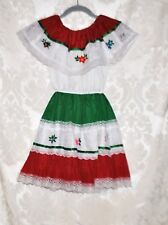 MIQUEL MEXICAN Girl's Dress Halloween Costume - Size 4