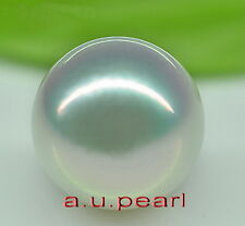 Collectibles real Top perfect round WHITE 14-15MM LOOSE SOUTH SEA PEARL pendant