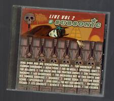 SUBSONIC LIVE VOL 2.  RARE CD 2002