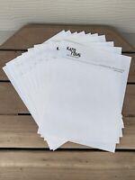 Vtg KATO TOYS MANKATO MN Letterhead Paper Histacount 1950s Lot of 10 Sheets