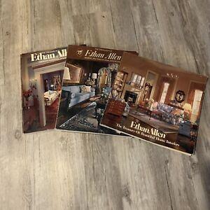 Three Vintage Treasury of Ethan Allen Catalogs 1974,1976, 86th Edition