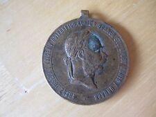 1873 Emperor Franz Joseph I Austria War Campaign Medal