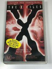 The X Files VHS Video Tape The X-Files x2 Titles BEYOND THE SEA / E.B.E (VGC)