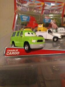 """Disney Cars """"Charlie Cargo"""" Deluxe from Sarge Boot Camp Benefit Nebr. Flood Vic"""