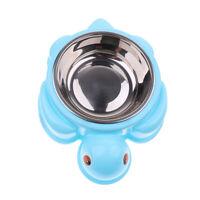 Non Slip Plastic Cat Puppy Dog Pet Bowl Dish Water Food Feed Anti-Skid