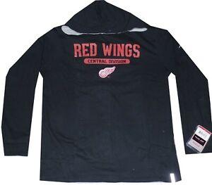 Detroit Red Wings Reebok Reversible Hooded Sweatshirt  $50 new tags