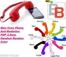 New Coco Phone Anti-Radiation POP 3.5mm Handset Random Color