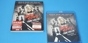 Sin City: A Dame to Kill For 3D (Blu-ray/DVD, Digital HD) NEW w/slipcover Target