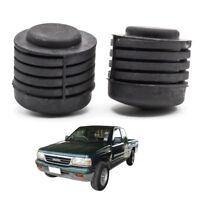 Front Spiral Hood Bonnet Bumper Rubber Black Fits Isuzu Holden Tfr 1991 - 1997