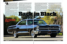 1965 PONTIAC 2+2 421/376 HP H.O. TRI-POWER ~ GREAT 4-PAGE ARTICLE / AD