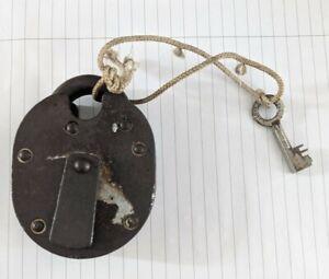Vintage Chubb Heavy Duty Padlock with key