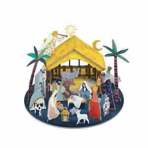 Roger la Borde Pop & Slot Away In A Manger Advent Calendar