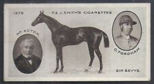 SMITHS-DERBY WINNERS-#16- HORSE RACING - SIR BEVYS