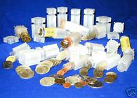 100 COIN SAFE Square Half Dollar Coin Tubes