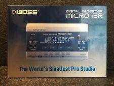 BOSS DIGITAL RECORDER MICRO BR NEW IN BOX NIB