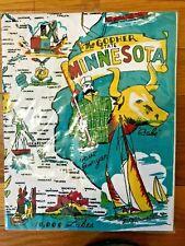 "Minnesota Gopher State Flour Sack Towel 22"" Brand New Nice!"