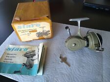 Staro Vintage Spinning Fishing Reel In Box With Extras Switzerland