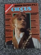 CIRCUS MAGAZINE!! DAVID BOWIE!! ISSUE 150 - 2/28/77!! ROD STEWART COLOR POSTER!