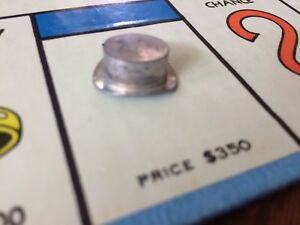 Monopoly 1961 Parker Brothers Replacement Token Part Hat