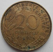 FRANCE 20 CENTIMES 1962