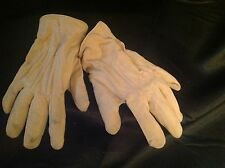 Antique Victorian Pair of Woven Gloves Childs Size Snap Indicates A. Raymond