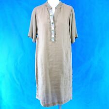 8efd90a4dc81 Riani Dress Size 36 Beige 100 Canvas Sequin Classy NP 289