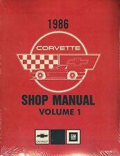 1987  CORVETTE SHOP MANUAL