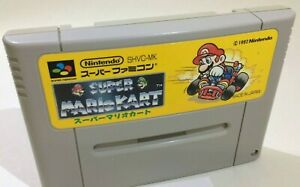 Super Mario Kart SFC Super Famicom SNES Japan Import - US Seller
