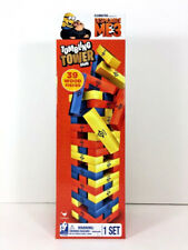 NEW Cardinal Tumbling Tower Game DEPSICABLE ME 3 Wooden Family Party Toy