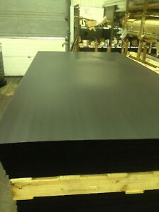 Correx 2mm - Black Sheets - Delivered Folded