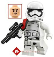 LEGO Star Wars - First Order Stormtrooper Officer minifigure from set 75104