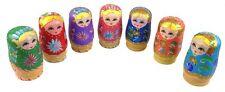 Matroschka Matrjoschka  11 cm 5 teilig Handarbeit Russische Puppe Babuschka