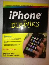 Iphone for Dummies by Edward C. Baig and Bob LeVitus 2009 Paperback 3G & 3GS