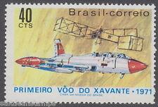 BRAZIL - 1971 Xavante Jet Fighter (1v) UM / MNH*