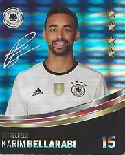 Sammelbild Nr 15 Karim Bellarabi REWE Glitzer Sticker Fußball EM 2016 DFB
