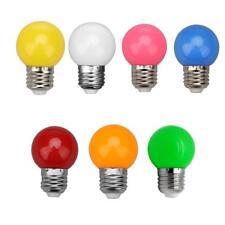 E27 3W SMD2835 LED Lamp Colorful Globe Light Bulb Bar Festival Decor Lighting