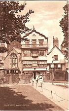 UK Exeter - Molly's Coffee House old unused postcard