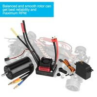 Surpass 4068 2050KV Brushless Motor 120A ESC 9kg Servo RC Parts Combo for1/8 Car